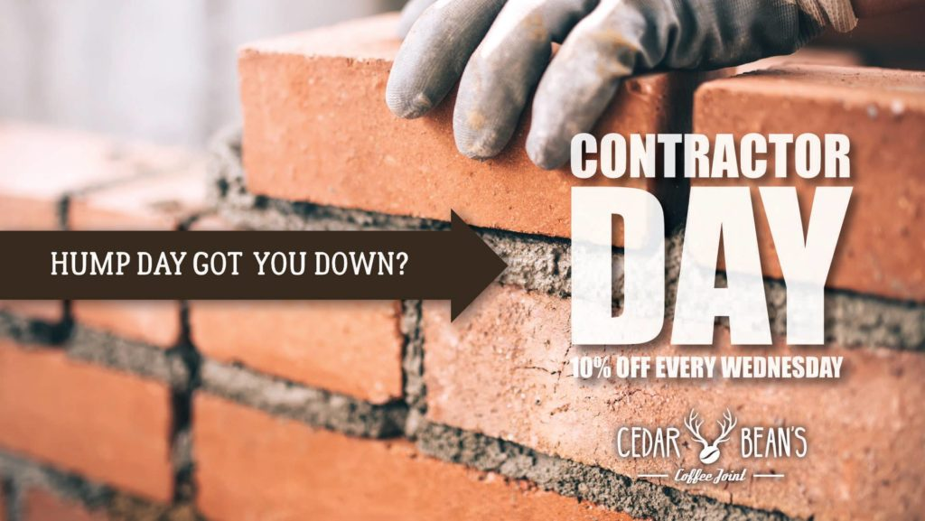 Contractor's Day - 10% off your order