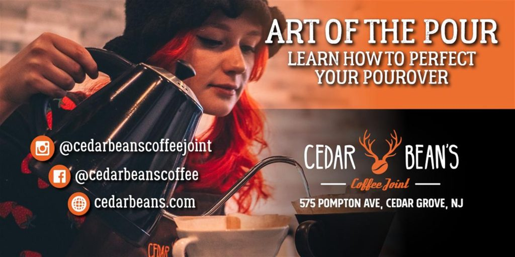 The Art of the Pour at Cedar Bean's Coffee Joint