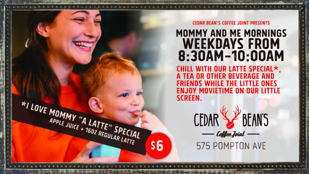 Mommy & Me Mornings | 8:30am-10am